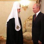 Путин поздравил патриарха Кирилла с днём тезоименитства